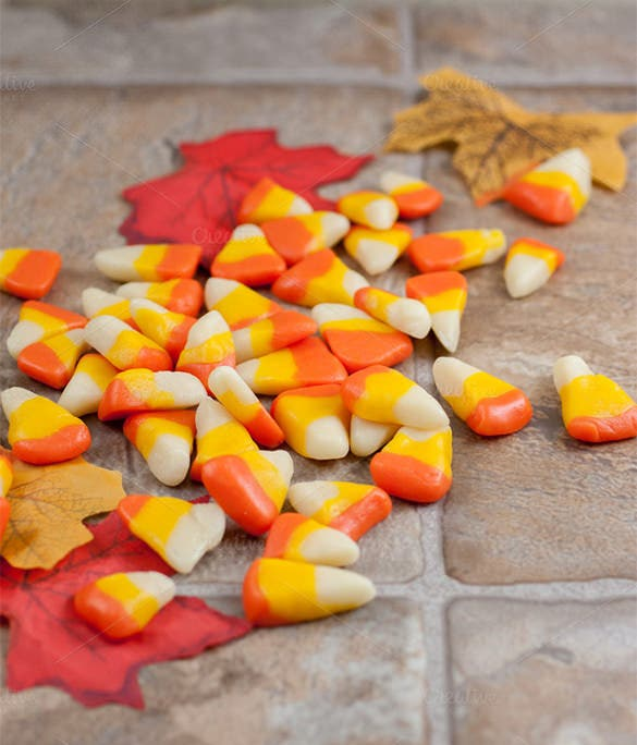 homemade candy corn template