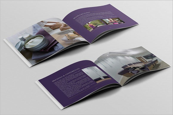 hotel brochure template for 10