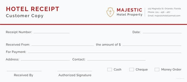 Hotel receipt template 19 free word excel pdf format download hotel receipt template thecheapjerseys Choice Image