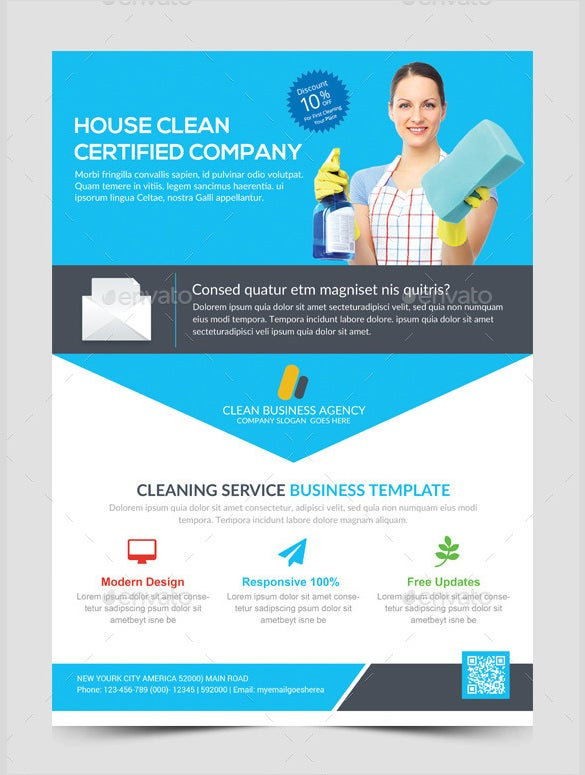 picture relating to Free Printable House Cleaning Flyers referred to as 20+ Place Cleansing Flyer Templates in just Term, PSD, EPS Vector