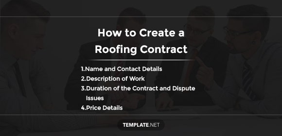 how to create a roofing contract1
