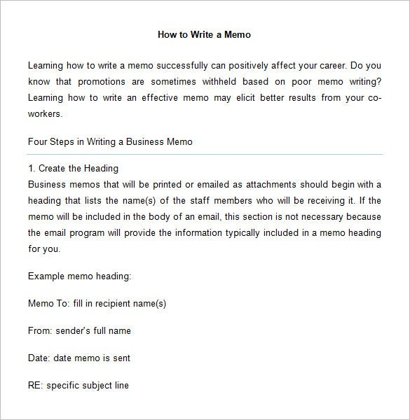 6+ Accounting Memo Templates – Free Word, PDF Documents Download ...