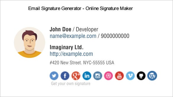 21+ Best Email Signature Generators, Tools & Online Makers | Free