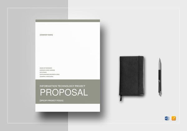 Technical Proposal Templates   Free Sample Example Format