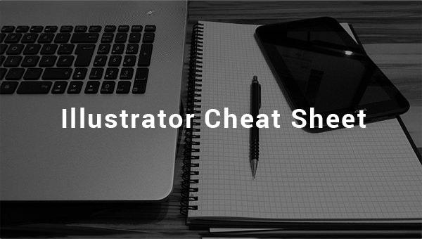 illustrator cheat sheet