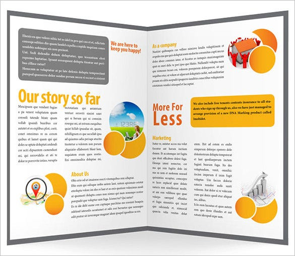 indesign a4 business brochure template