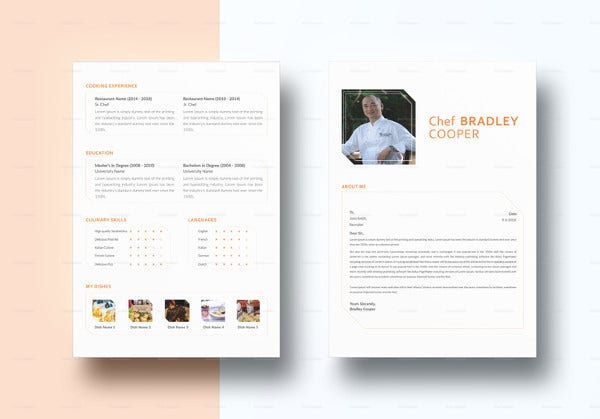 indesign-chef-resume-template