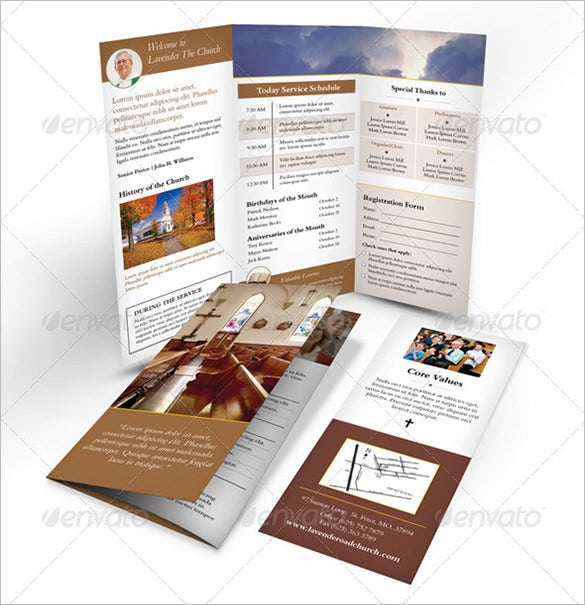 15+ Popular Church Brochure Templates & Designs | Free & Premium