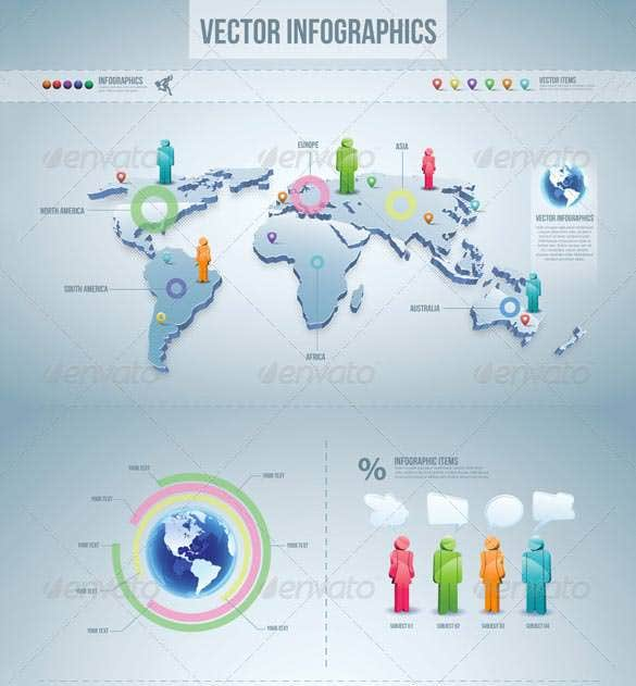 infographic vector elements set