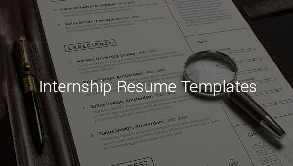 10 Internship Resume Templates Pdf Doc Free Premium Templates