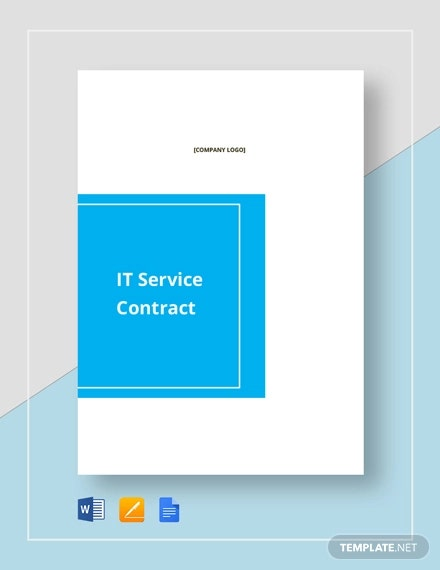 it service contract