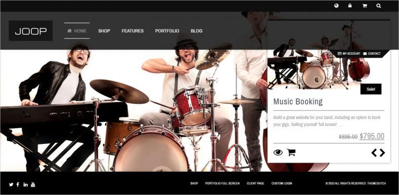 joop full screen woocommerce portfolio theme 788x385