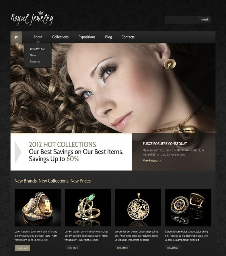 jewelry joomla template 2 788x892