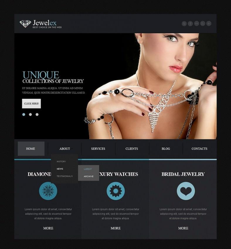 jewelry responsive joomla template 2 788x847