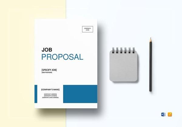 job proposal template to edit