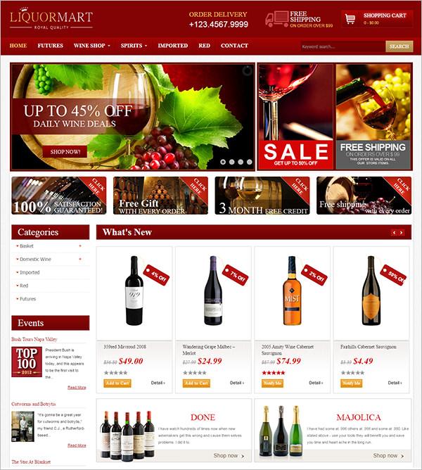 joomla wine virtuemart template