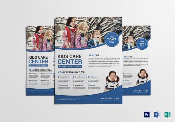 kids-care-flyer-template