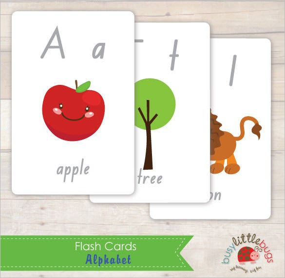 kids flash card