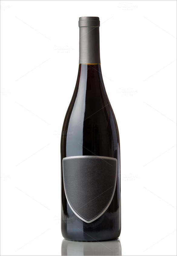 label template for wine bottle 10