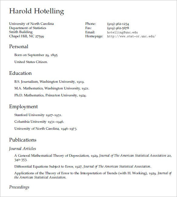 latex professional resume template