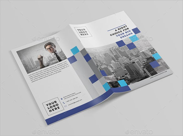 leaflove the real estate brochure template 9