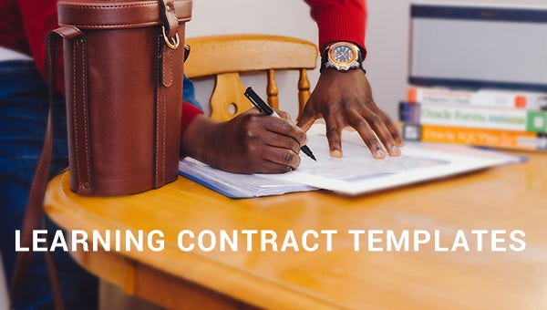 learningcontracttemplate