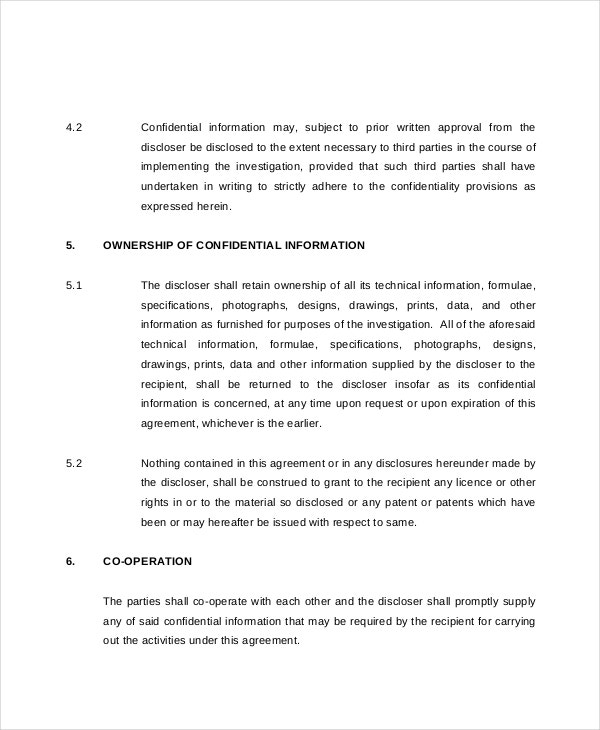 legal advisor secretary confidentiality agreement1