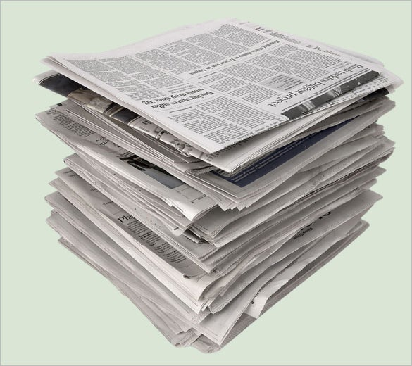 light colour background free news paper