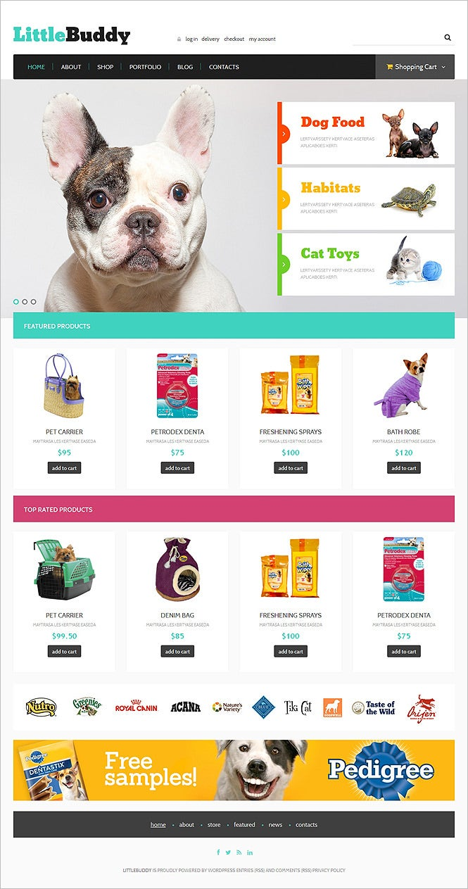 little buddy woocommerce theme
