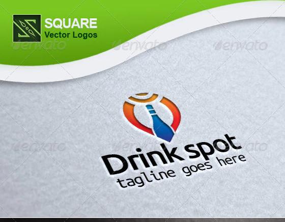 locator vector logo template
