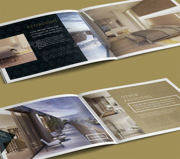 luxury brochure template - 16 popular psd hotel brochure templates free premium