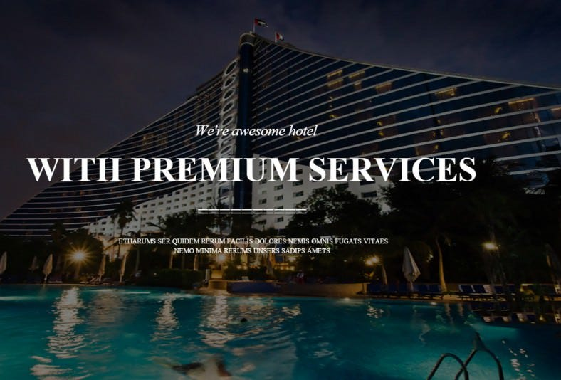 luxury hotel joomla template 788x534