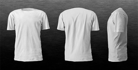 male t shirt template psd