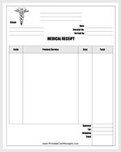 Medical-Receipt-Template-Free