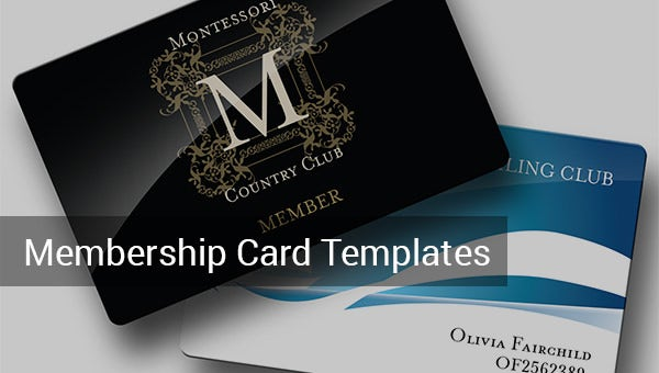 membership card template
