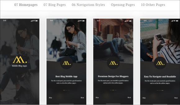 mobile-app-template