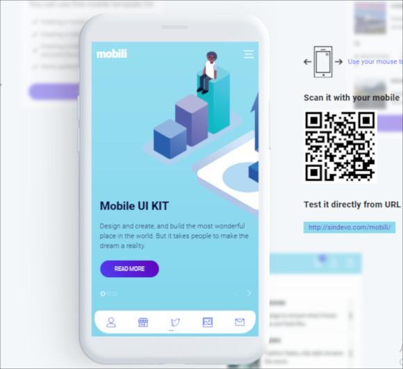 mobili html mobile