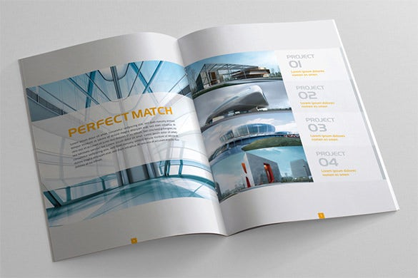 Brochure Design Ideas unicer corporate Modern Brochure Design Template