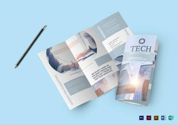 Modern Brochure Design Templates PSD InDesign Illustration - Free brochure design templates
