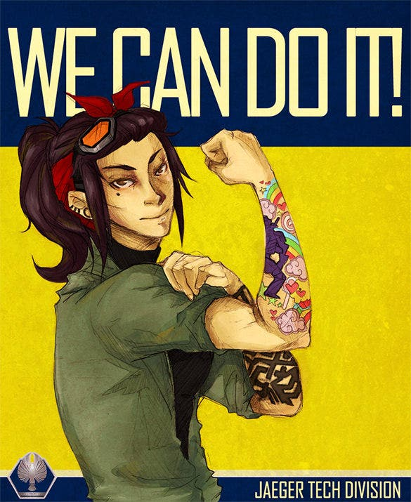 motivational we can do it poster