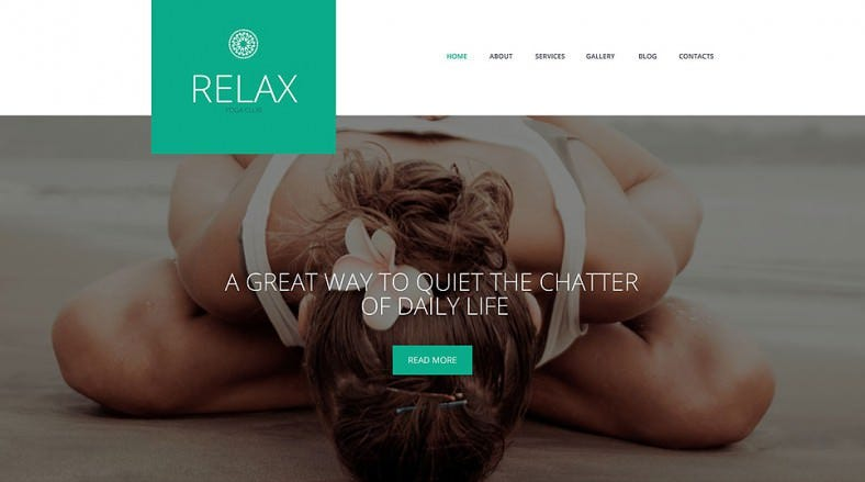 Multi Color Options Responsive Yoga WordPress Theme