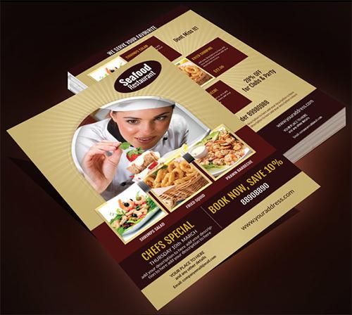 multi purpose food flyer