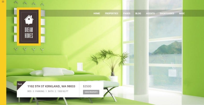 Multipage Design Realestate Html Template