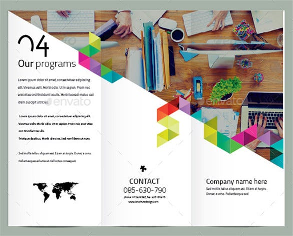 23 beautiful product brochure templates psd free for Sample product catalogue template