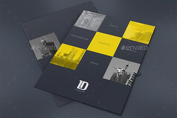 Multipurpose Psd Presentation Folder Template