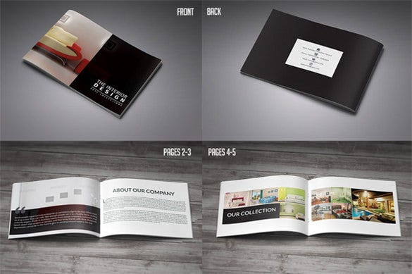 Beautiful Psd Product Brochure Templates  Free  Premium Templates