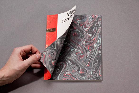 museale forstyrrelser modern brochure template