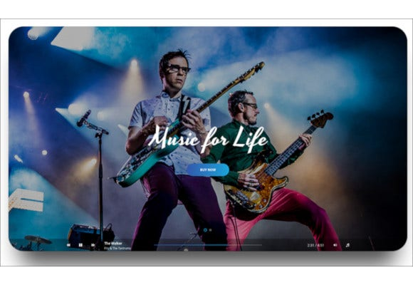 music singers bands wordpress theme