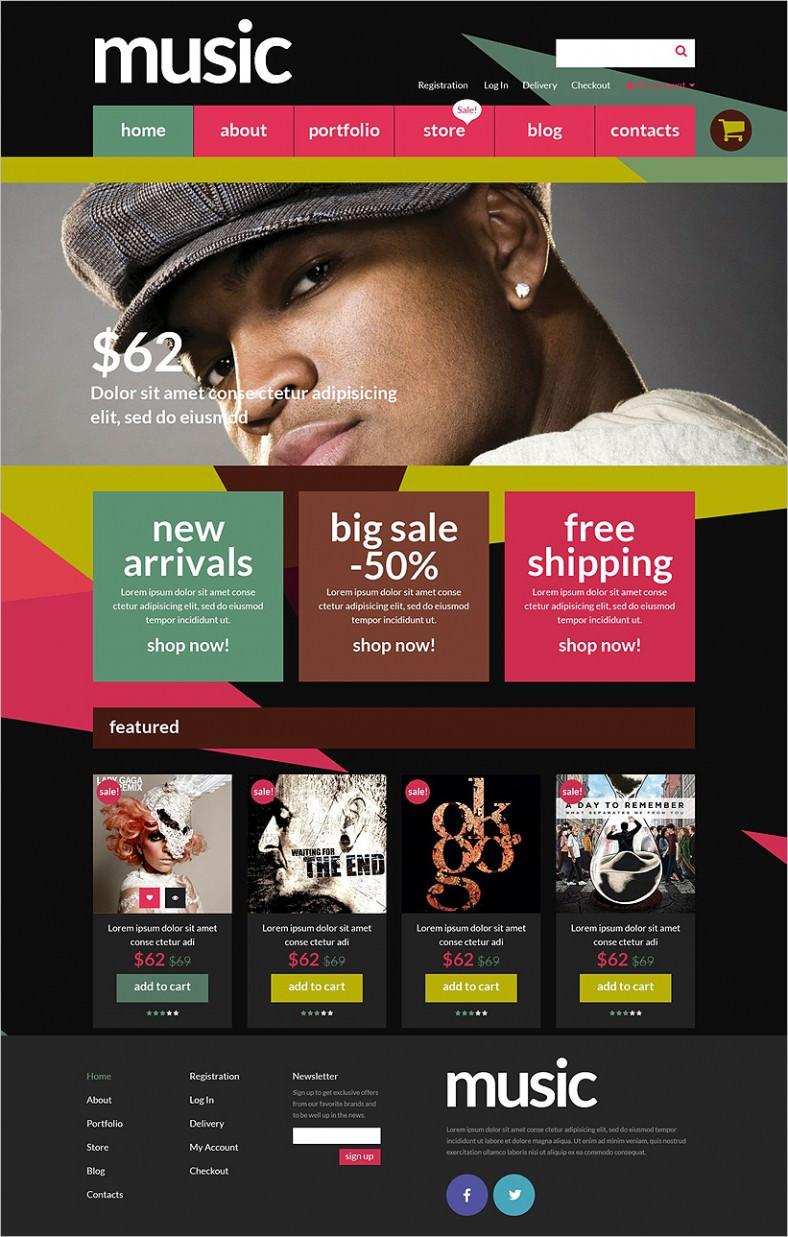 music store woocommerce theme 788x1237