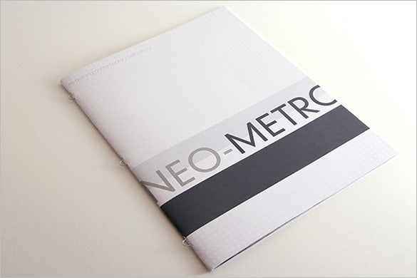 neo metroproduct brochure template